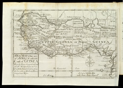 Map of Guinea, from William Snelgrave's